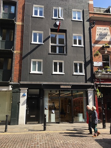 Media Space in the Seven Dials area of Covent Garden